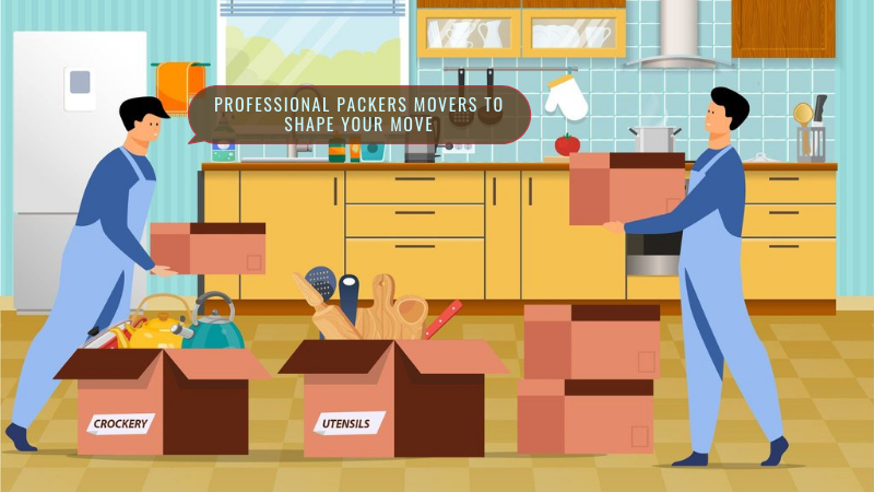 Professional packers movers to shape your move