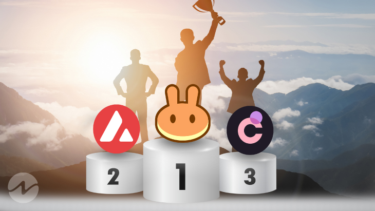 Top 3 Most Voted Coins for the Day